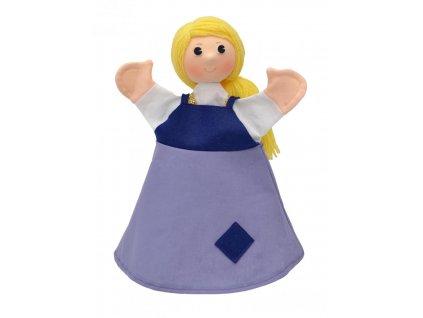 Maňásek - Popelka - hračka z textilu