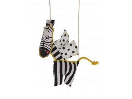 marioneta pro děti zebra