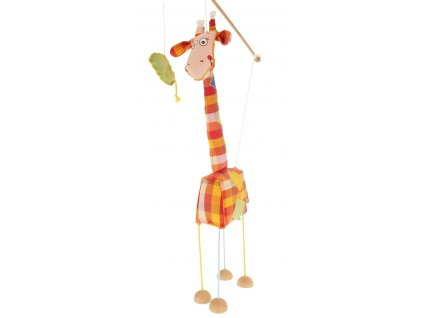 velká marioneta pro děti žirafa