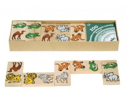 66050 dřevěné domino pro děti africká zvířata (2)