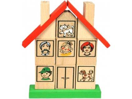 skládací domek ze dřeva pro děti