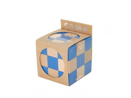 66042 hlavolam ze dřeva soma modrá (2)