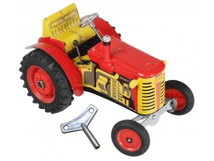 natahovací hračka pro kluky - traktor KOVAP