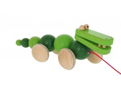 68108. dřevěný krokodýl tahačka ze dřeva pro dětijpg (2)