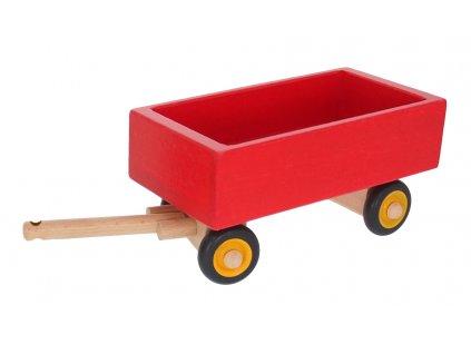 68133 hračka dřevěný valník k traktoru