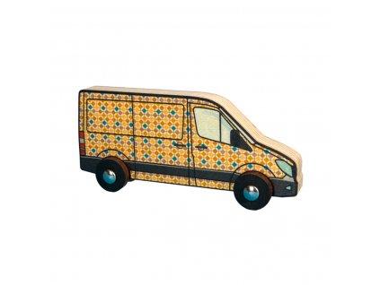 63300 autíčko dřevěná hračka pro děti