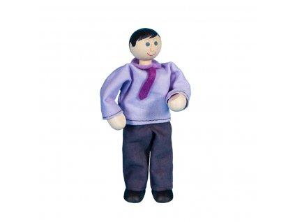 63307 tatínek ohebná postavička ze dřeva pro děti
