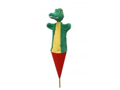 71384 maňásek krokodýl v kornoutu (1)
