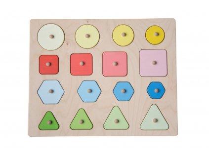 Puzzle tvary a velikosti