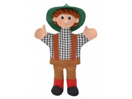 KLUK - textilní maňásek na ruku 37cm. Česká hračka certifikovaná pro děti od 3 let.