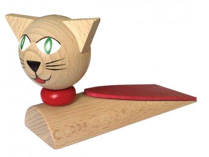Zarážka pod dveře - Kočka