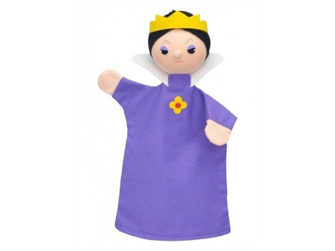 Maňásek - Královna Ester - hračka z textilu