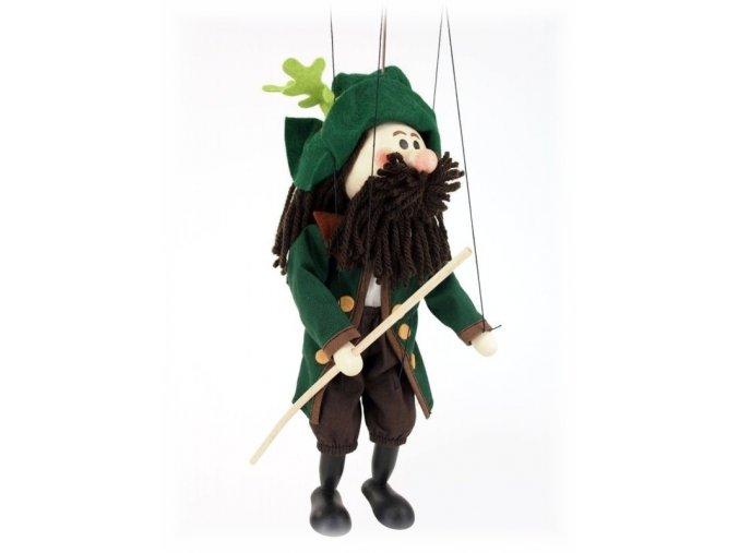 Dřevěná loutka - hračka ze dřeva - Krakonoš
