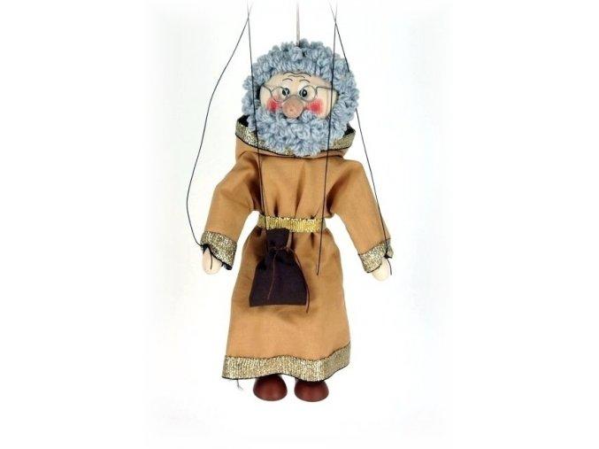 Dřevěná loutka - hračka ze dřeva - Kupec