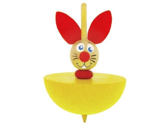 Káča - Zajíc hračka ze dřeva