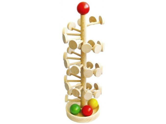 Tobogán PETRA hračka ze dřeva