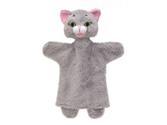 71349 textilní maňásek kočička šedá (1)