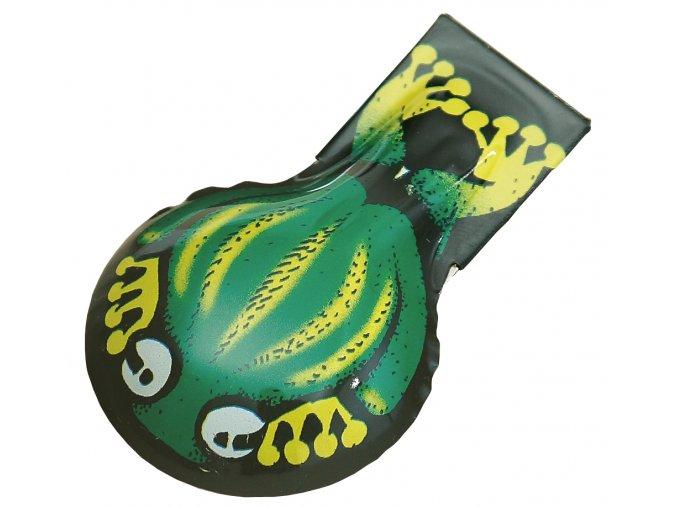 cvakací žabka