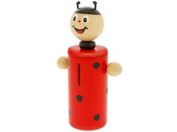 Kasička hračka ze dřeva Beruška Holly