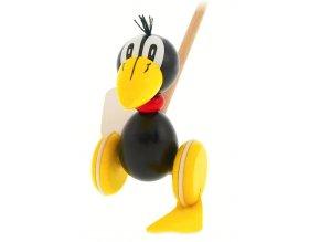 Plácačka Havran hračka ze dřeva Elliott