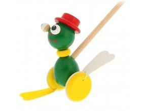 Plácačka Žába hračka ze dřeva Martha