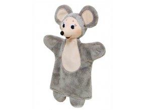 Maňásek - Myška - hračka z textilu