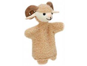 Maňásek - Beránek - hračka z textilu
