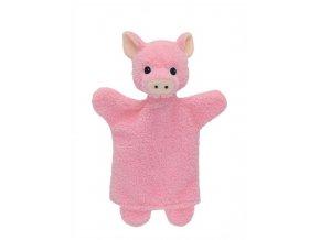 Maňásek - Prasátko - hračka z textilu