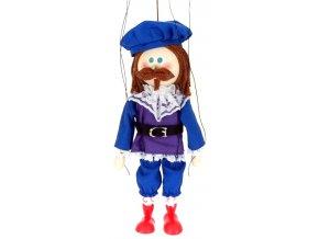 Dřevěná loutka - hračka ze dřeva - Princ
