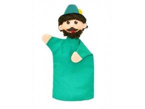 Maňásek - Myslivec - hračka z textilu