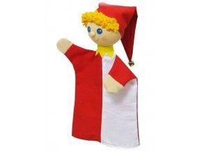 Maňásek - Kašpárek Vilda - hračka z textilu