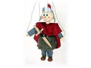Dřevěná loutka - hračka ze dřeva - Rytíř