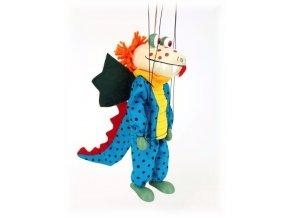Dřevěná loutka - hračka ze dřeva - Drak