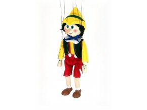 Dřevěná loutka - hračka ze dřeva - Pinochio