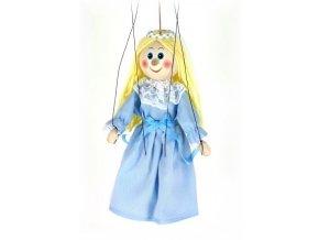 Dřevěná loutka - hračka ze dřeva - Víla