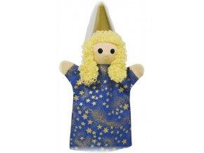 Maňásek - Víla půlnoční - hračka z textilu