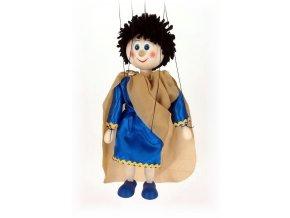 Dřevěná loutka - hračka ze dřeva - Hélios