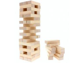 Hra - věž natur hračka ze dřeva
