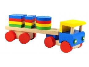Skládací auto hračka ze dřeva Alfred