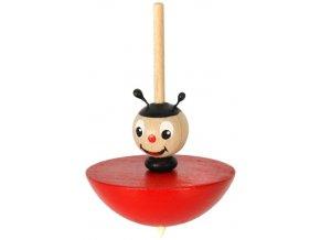 Káča - Beruška hračka ze dřeva