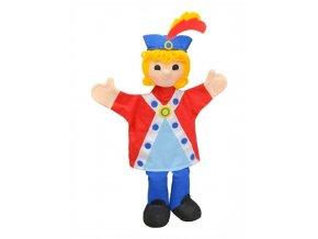 Maňásek - Princ Vendelín - hračka z textilu