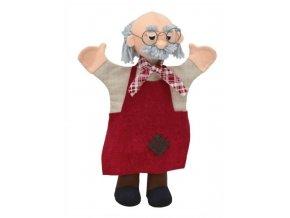 Maňásek - Djepeto - hračka z textilu