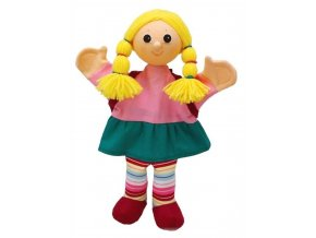 Maňásek - Školačka Ema - hračka z textilu