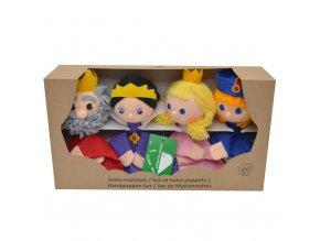 Krabička maňásků - Královská rodina 2 - hračka z textilu