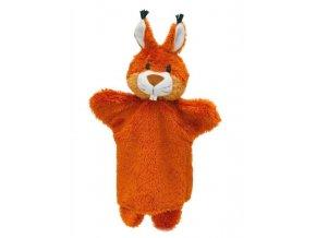 Maňásek - Veverka - hračka z textilu