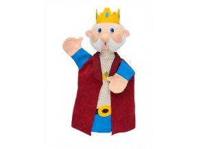 Maňásek - Král Valentýn - hračka z textilu