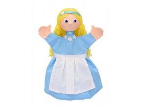 Maňásek - Alenka - hračka z textilu
