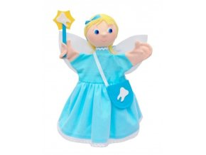 Maňásek - Víla zoubková - hračka z textilu