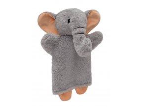 71347 textilní maňásek sloník