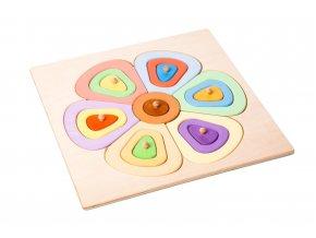 67106 barevna drevena skladaci kytka pro deti (3)